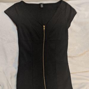 H&M Mini Zip Dress